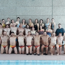 team underwater hockey sporttaucher